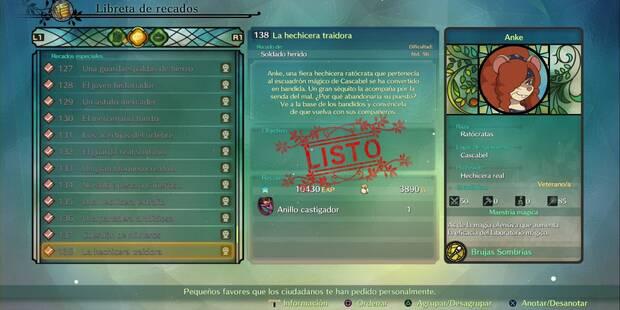 Recado Especial 138 - La hechicera traidora en Ni No Kuni 2: El renacer de un reino