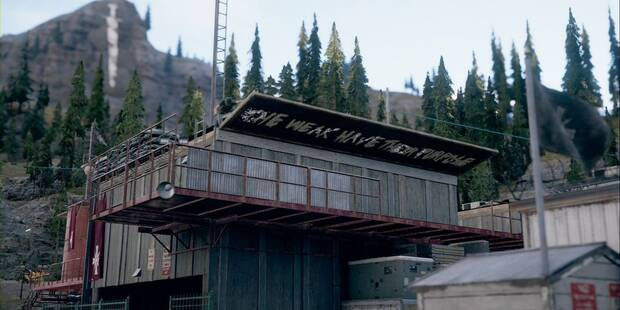 Libera la serrería Baron en Far Cry 5