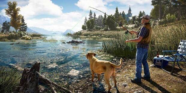 Pesca: cañas de pescar, peces y dónde encontrarlos en Far Cry 5