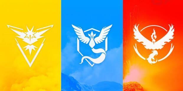 Pokémon GO - Equipos