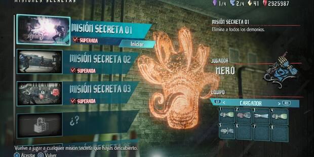 TODAS Las Misiones secretas en Devil May Cry 5 -  Localización
