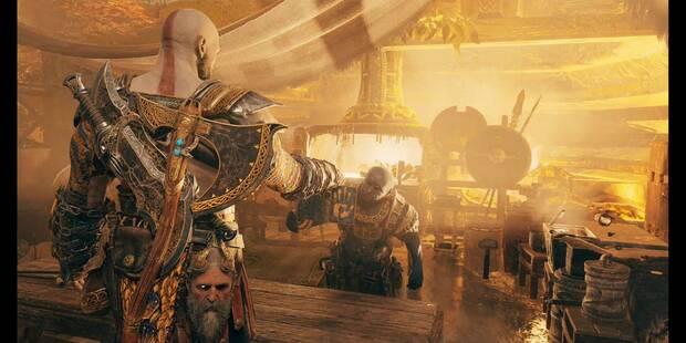 Un camino a Jötunheim - Misión historia God of War PS4