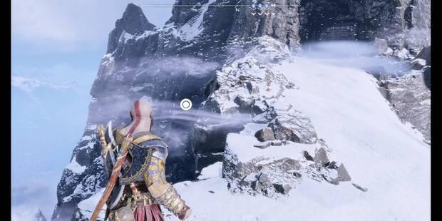 Camara oculta de Odín 5 en Midgard: Montaña - God of War (PS4)