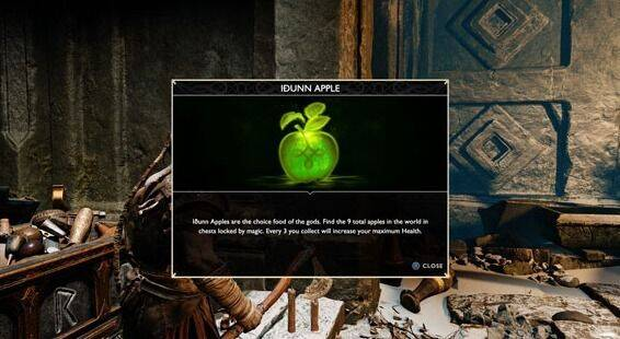 Todas las manzanas de Idunn en God of War (PS4) - LOCALIZACIÓN