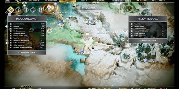 Laderas en God of War PS4: TODOS los coleccionables y secretos