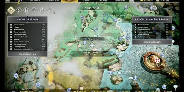 Almacén de Fafnir en God of War (PS4): TODOS los coleccionables y secretos