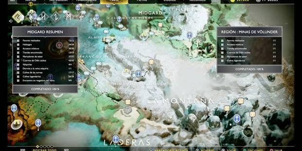 Minas de Völlunder en God of War (PS4): TODOS los coleccionables y secretos