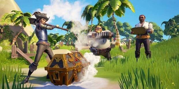Tipos de cofres del tesoro y sus recompensas en Sea of Thieves