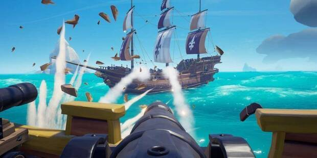 Combate naval en Sea of Thieves - Los mejores consejos y técnicas