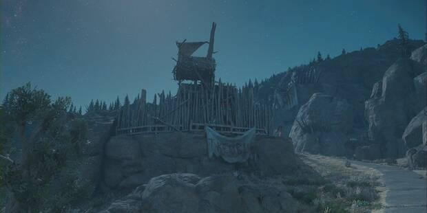 Days Gone: Campamento de emboscadores de Black Crater al 100% y secretos
