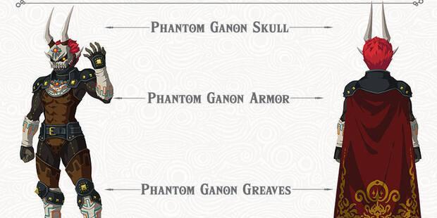 Conseguir la armadura fantasmal en Zelda: La Balada de los Elegidos