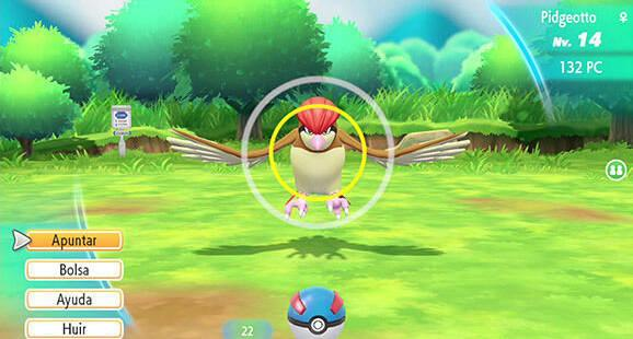 Rachas de captura en Pokémon Let's Go - Recompensas y ventajas