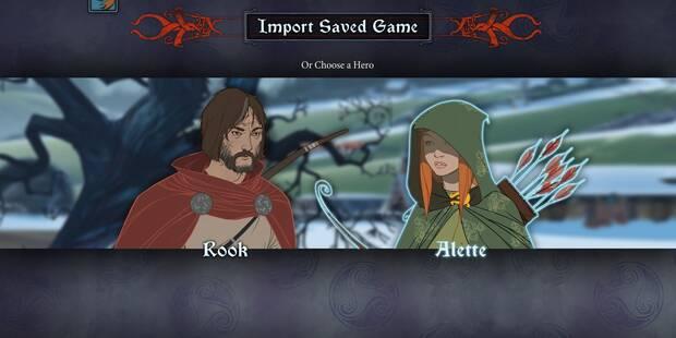 Cómo importar la partida de The Banner Saga 2 a The Banner Saga 3