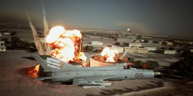 Ace Combat 7: pilotos de aviones con nombre para 'Ave de Presa'