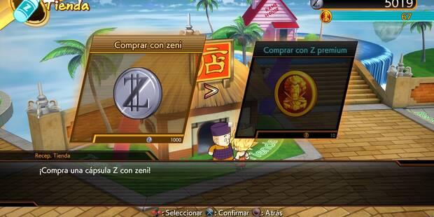 Cómo ganar dinero rápido para Cápsulas Z en Dragon Ball FighterZ