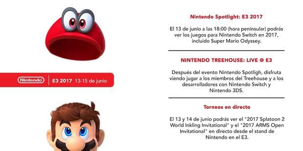 Nintendo detalla sus planes para el E3 2017  Imagen 2