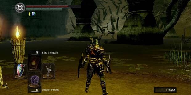 Ciudad infestada en Dark Souls Remastered al 100%