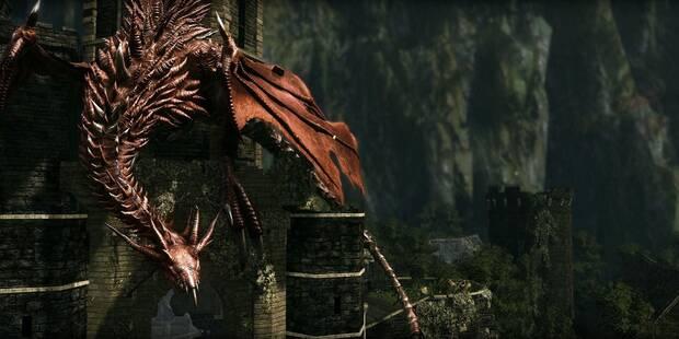 Dragón rojo en Dark Souls Remastered: cómo derrotarlo y recompensas