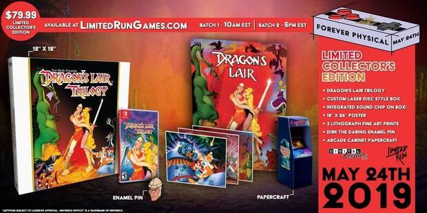 Dragon's Lair Trilogy tendrá una edición física para coleccionistas en Switch Imagen 2
