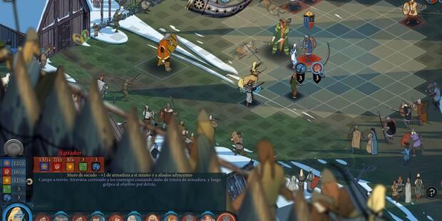Todo sobre los combates en The Banner Saga 3