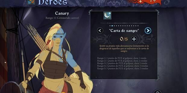 Cómo hacer progresar a tus personajes en The Banner Saga 3
