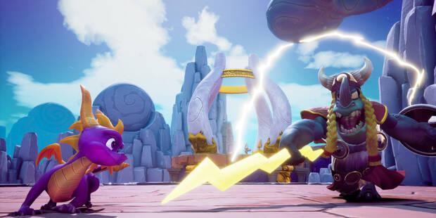 Primavera soleada en Spyro 3 - Todos los huevos
