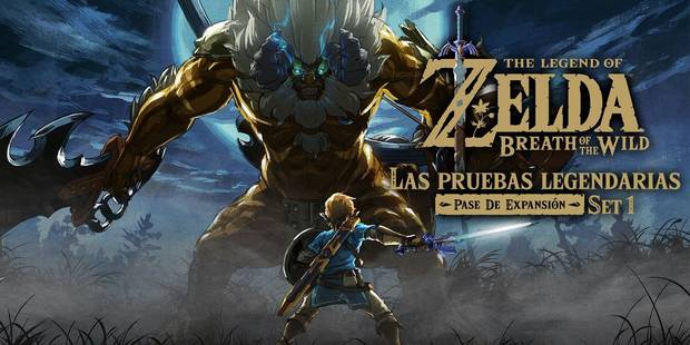 Las Pruebas Legendarias Zelda Breath of the Wild