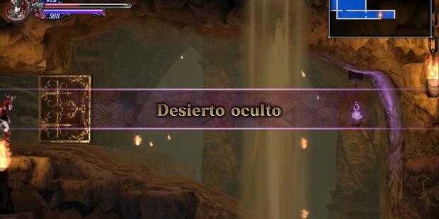 Desierto oculto al 100% en Bloodstained: Ritual of the night