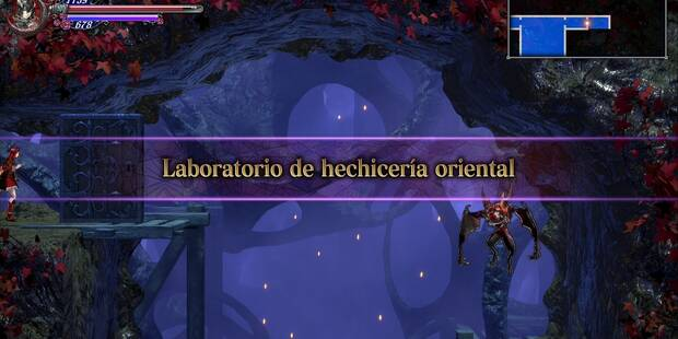 Laboratorio de hechicería oriental al 100% en Bloodstained: Ritual of the night