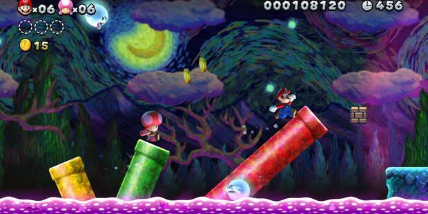 Todas las salidas secretas de New Super Mario Bros. U Deluxe