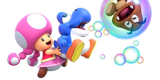 Estos son los Tipos de Yoshi en New Super Mario Bros. U Deluxe