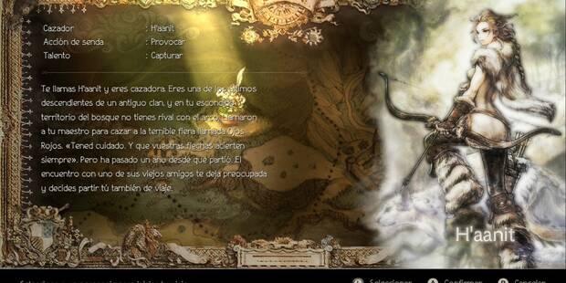 Modo historia: Todos los capítulos de H'aanit en Octopath Traveler