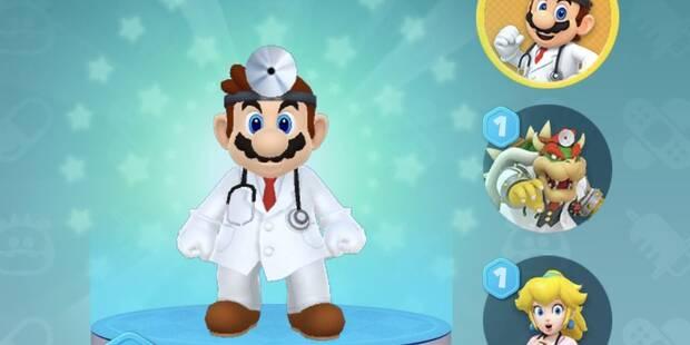 Dr. Mario World: Cómo conseguir a más personajes o doctores