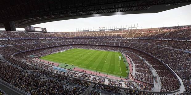 eFootball PES 2020: Todos los estadios reales y propios del juego.