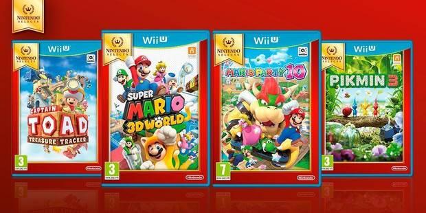 Llegan cuatro nuevos Nintendo Selects a Wii U Imagen 2