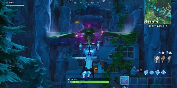 Fortnite: Aterriza en una mansión de héroe abaondonada y en una guarida de villano abandonada - SOLUCIÓN