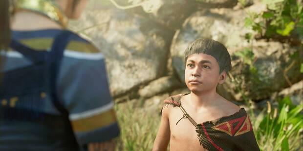 Encuentra los dados y Proscritos en Shadow of the Tomb Raider - Misión secundaria