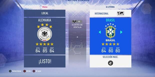 FIFA 19: Todas las ligas, equipos, selecciones y licencias