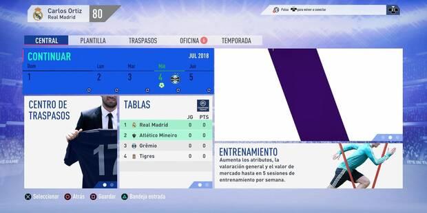 Todo sobre el Modo Carrera (Manager y Jugador) de FIFA 19