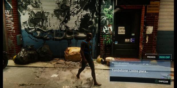 Tombstone: Listos para... en Spider-Man (PS4): cómo completarla - Misión secundaria