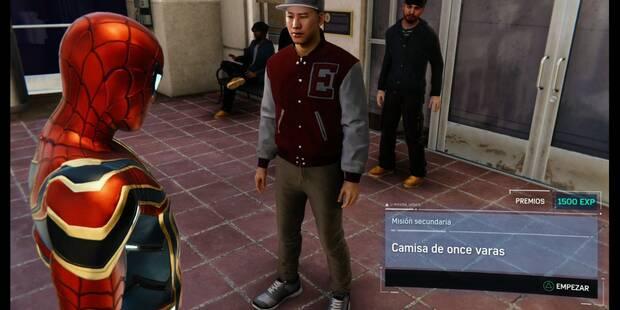 Camisa de once varas en Spider-Man (PS4): cómo completarla - Misión secundaria