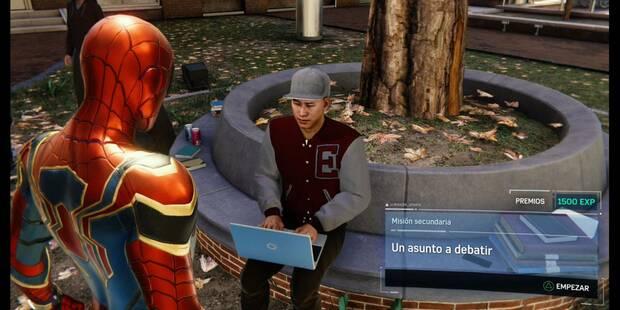 Un asunto a debatir en Spider-Man (PS4): cómo completarla - Misión secundaria