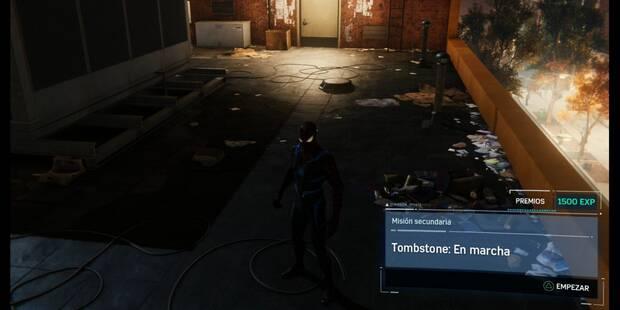 Tombstone: En marcha en Spider-Man (PS4): cómo completarla - Misión secundaria