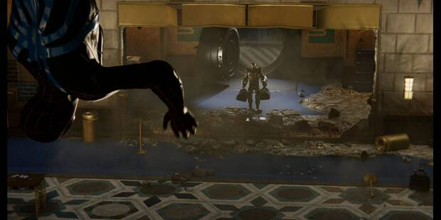 Impacto financiero en Spider-Man (PS4) - Misión principal