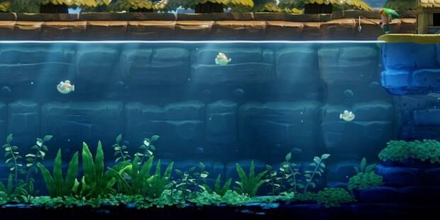 Cómo pescar peces grandes en Zelda: Link's Awakening