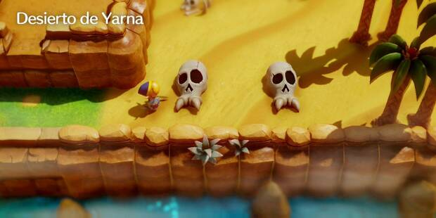 Desierto de Yarna en Zelda: Link's Awakening: secretos y 100%