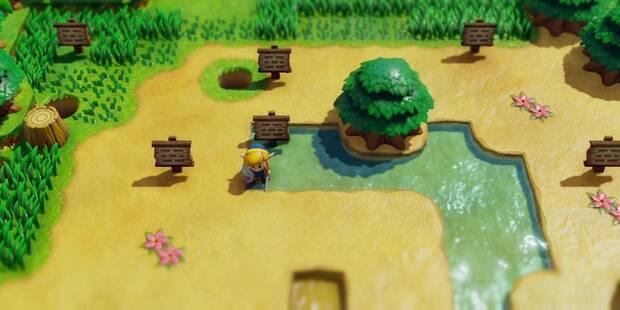 Laberinto de las señales en Zelda: Link's Awakening: secretos y 100%