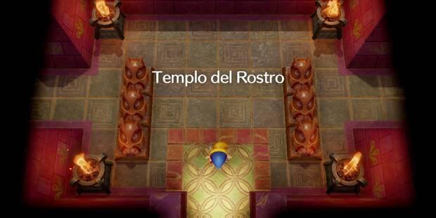 Templo del Rostro en Zelda: Link's Awakening: secretos y 100%