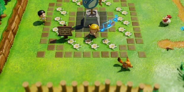 La montaña en Zelda: Link's Awakening: secretos y 100%