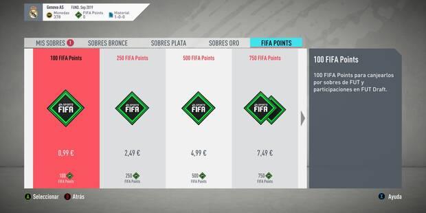 FIFA 20: ¿Cómo conseguir FIFA Points en FUT y para qué sirven?